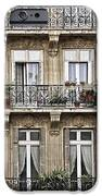 Paris Windows IPhone Case by Elena Elisseeva
