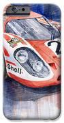 Porsche 917k Winning Le Mans 1970 IPhone Case by Yuriy  Shevchuk