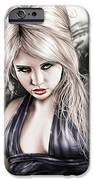 Portrait Of Miss Mosh IPhone Case by Pete Tapang