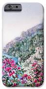Positano Italy IPhone Case by Irina Sztukowski