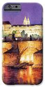Prague Night Panorama Charles Bridge  IPhone 6s Case by Yuriy  Shevchuk