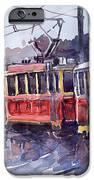 Prague Old Tram 01 IPhone Case by Yuriy  Shevchuk