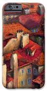 Prague Roofs IPhone Case by Yuriy  Shevchuk