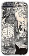 Rathbone Meets The Forest Lord IPhone Case by Al Goldfarb