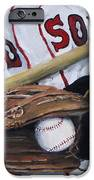 Red Sox Number Six IPhone Case by Jack Skinner