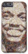Rg3 Redskins History Mosaic IPhone Case by Paul Van Scott