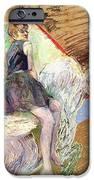 Rider On A White Horse IPhone Case by Henri de Toulouse Lautrec