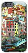 Riomaggiore Italy IPhone Case by Conor McGuire