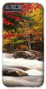 River Rapids Fall Nature Scenery IPhone Case by Oleksiy Maksymenko