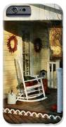 Rocking Chair On Side Porch IPhone Case by Susan Savad