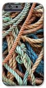 Rope Background IPhone Case by Carlos Caetano
