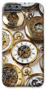 Rows Of Pocket Watches IPhone Case by Garry Gay