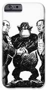 Scopes Trial Cartoon 1925 IPhone Case by Granger