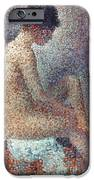 Seurat: Model, 1887 IPhone Case by Granger