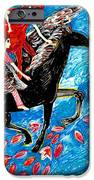 She Flies With The West Wind IPhone Case by Sushila Burgess