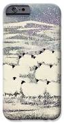 Sheep In Winter IPhone Case by Suzi Kennett