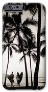 Silhouetted Surfers - Sep IPhone Case by Dana Edmunds - Printscapes