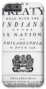 Six Nations Treaty, 1742 IPhone 6s Case by Granger