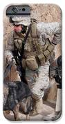 Soldiers Move To The Roof Of A Metal IPhone Case by Stocktrek Images