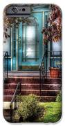 Spring - Door - Apartment IPhone Case by Mike Savad