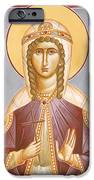 St Barbara IPhone Case by Julia Bridget Hayes