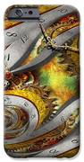Steampunk - Spiral - Space Time Continuum IPhone Case by Mike Savad
