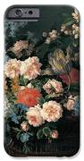 Still Life With Basket Of Flowers IPhone Case by Jean-Baptiste Monnoyer