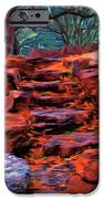 Stone Steps In Autumn IPhone Case by Jeff Kolker