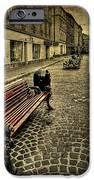 Street Seat IPhone Case by Evelina Kremsdorf
