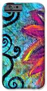 Sunny Day Purple IPhone Case by Gwyn Newcombe