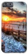Sunrise At Cotton Bayou  IPhone Case by Michael Thomas