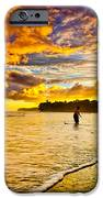 Sunset At The Coast IPhone Case by Iris Greenwell