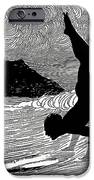 Surfer And Waikiki IPhone Case by Hawaiian Legacy Archive - Printscapes