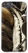 Tac Room Saddles IPhone Case by John Greim