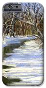 The Assabet River In Winter IPhone Case by Jack Skinner