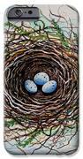 The Botanical Bird Nest IPhone Case by Elizabeth Robinette Tyndall