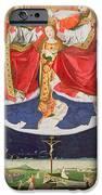 The Coronation Of The Virgin IPhone Case by Enguerrand Quarton