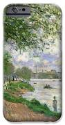 The Island Of La Grande Jatte IPhone Case by Claude Monet