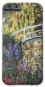 The Japanese Bridge IPhone Case by Claude Monet