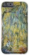 The Large Willow At Giverny IPhone Case by Claude Monet