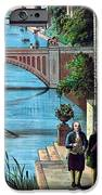 The Reception Of Benjamin Franklin In France IPhone Case by War Is Hell Store