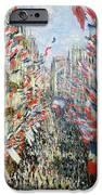 The Rue Montorgueil IPhone Case by Claude Monet