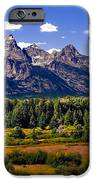The Tetons II IPhone Case by Robert Bales