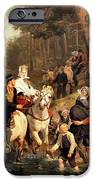 The Wedding Trek IPhone Case by Adolphe Tidemand
