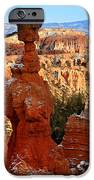 Thor's Hammer In Bryce Canyon IPhone Case by Pierre Leclerc Photography