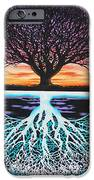 Tree Of Life And Negative IPhone Case by Brian Schuster