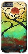 Twisting Love II Original Painting By Madart IPhone Case by Megan Duncanson