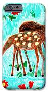 Two Deer IPhone Case by Sushila Burgess