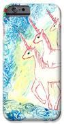 Unicorns Come Home IPhone Case by Sushila Burgess