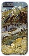 Van Gogh: Cottages, 1890 IPhone Case by Granger